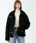 레이디 볼륨(LADY VOLUME) [남/여] Overfit suede minimal leather mustang
