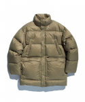 에스피오나지(ESPIONAGE) Sanford Mid Down Parka Khaki