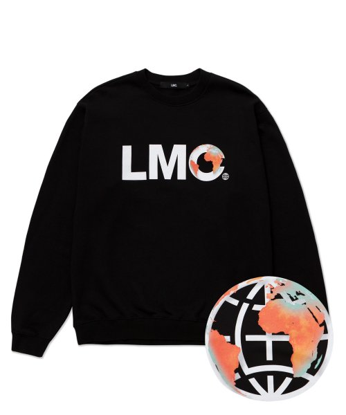 엘엠씨(LMC) LMC EARTH LOGO SWEATSHIRT black
