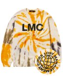 엘엠씨(LMC) LMC TIE DYE OG WHEEL SWEATSHIRT yellow