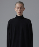 아더사이드(OTHERSIDE) OSD BASIC POLANECK T SHIRTS(BLACK)