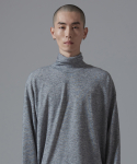 아더사이드(OTHERSIDE) OSD BASIC POLANECK T SHIRTS(GRAY)