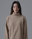 아더사이드(OTHERSIDE) OSD STRIPE POLANECK T SHIRTS(BEIGE)
