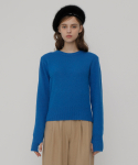 로켓런치() [UNISEX] R COLOR ANGORA KNIT