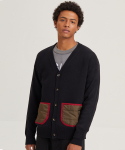 잇츠션() WARM POCKET CARDIGAN_ITS00005_BLACK