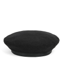 와일드 브릭스(WILD BRICKS) MELTON WOOL FLAT BERET (black)