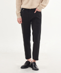 덴메이드(DENMADE) (2차 리오더)DEN crease straight black jeans.