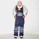 비에스래빗(BSRABBIT) BSR INCREDIBLE TRANSFORM BIB PANTS PAISLEY NAVY