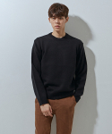 에이본() 617 ramsoul round knit  black