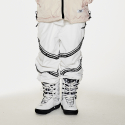 비에스래빗(BSRABBIT) BSR TRANSFORM BOX MULTI JOGGER PANTS LINE WHITE