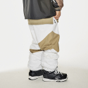 비에스래빗(BSRABBIT) DIAGONAL BOX JOGGER PANTS WHITE