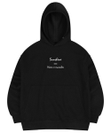 마실러() SUNSHINE HOODED SWEAT SHIRT BLACK