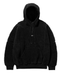 엘엠씨(LMC) LMC BOA FLEECE QUARTER ZIP HOODIE black