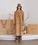 티엠오 바이 써틴먼스() HANDMADE LONG WOOL COAT (CAMEL)