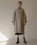 엽페(YUPPE) OVER HANDMADE COAT_BEIGE