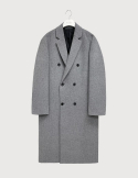하우트옴므() Cashmere grey double coat [HC23]