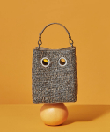 코이무이(KOIMOOI) Mini Nana Bag (Brown tweed)