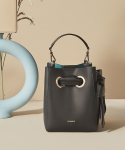 코이무이() Mini Nana Bag (Black+Turquoise blue)