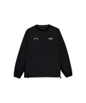 골스튜디오(GOALSTUDIO) LOGO WIND PULLOVER - DEEP BLACK
