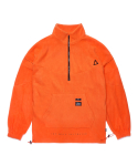 스티그마(STIGMA) TRIANGLE FLEECE OVERSIZED ANORAK JACKET ORANGE