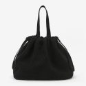 오프더레코드() Fleece Shopper Bag_Black
