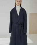 트립르센스(TRIP LE SENS) LE ROBE COAT_NAVY