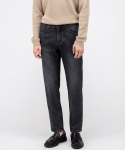 브랜디드() 1960 BLACK YARD JEANS [CROP STRAIGHT]