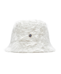 하이스쿨디스코(HIGH SCHOOL DISCO) H fur bucket hat_ivory