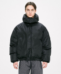 디프리크() Hood Padded Jacket - Black