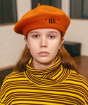 슬리피슬립(SLEEPYSLIP) [unisex]183; WOOL ORANGE BERET
