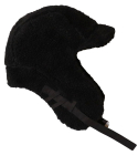 슬리피슬립(SLEEPYSLIP) [unisex]F/W FUR REVERSIBLE TROOPER HAT BLACK