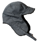 슬리피슬립(SLEEPYSLIP) [unisex]F/W REVERSIBLE SATIN TROOPER HAT GRAY