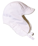 슬리피슬립(SLEEPYSLIP) [unisex]F/W REVERSIBLE SATIN TROOPER HAT WHITE