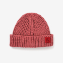 벤시몽(BENSIMON) [BENSIMON] SLOW B SHORT BEANIE - DARK RED