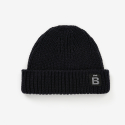 벤시몽(BENSIMON) [BENSIMON] SLOW B SHORT BEANIE - DARK GREY