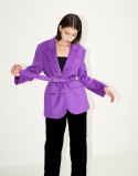 채뉴욕(CHAENEWYORK) The Back to classic tailored jacket [Pop purple]