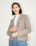채뉴욕(CHAENEWYORK) Carol Tailored Jacket [Ivory]