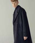 퍼스트플로어(FIRSTFLOOR) WIDE COLLAR OVER COAT (ANGORA)