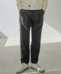 제로() Corduroy One Tuck Crop Pants [Espresso]