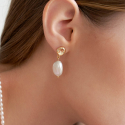 리엔느와르(leeENoir) Sea Pearl Earring (2color)