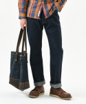 데님인디고마스터(DENIMINDIGOMASTER) W811KK NEW WIDE HEAVY SELVEDGE DENIM