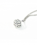 티슈클럽밴드() Dice Shaped Necklace
