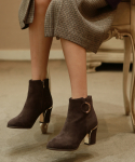 리플라(LI FLA) 19B538 darkbrown ankle