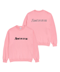 아크메드라비() ADLV HEAVY COTTON EMBROIDERY LOGO SWEAT SHIRTS PINK