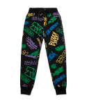 스티그마() PAINTING HEAVY SWEAT JOGGER PANTS BLACK MULTI