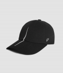 바이브레이트() VERTICAL DIVISION BALL CAP (BLACK)
