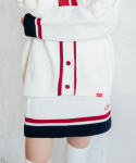 하트클럽(HEART CLUB) Heart Coloration Knit Skirt_Ivory