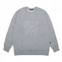 플러피() fluffy big logo mtm_gray