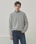 코우코우() Herashi Round Sweater_Gray