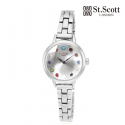세인트스코트런던(ST.SCOTT LONDON) ST6011LMWT BRILLIANT WATCH 여성시계
